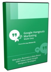 Google Hangouts Marketing Made Easy Private Label Rights