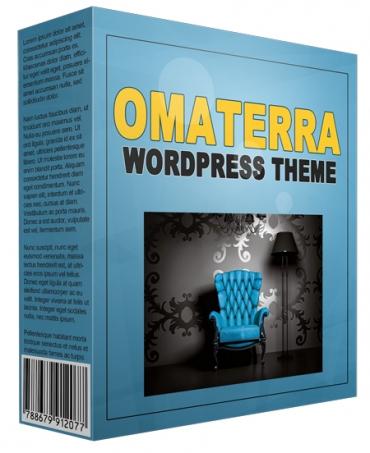 Amazing Omaterra WordPress Theme