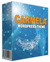 Carmela Premium WordPress Theme Private Label Rights