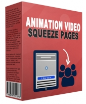 Animation Video Squeeze Page Private Label Rights
