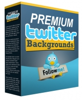 New Premium Twitter Background Private Label Rights