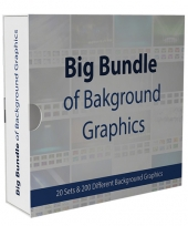 Big Bundle Of Background Graphics Private Label Rights