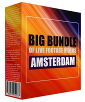 Big Bundle Of Live Footage Videos - Amsterdam Private Label Rights