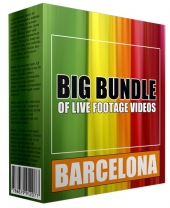 Big Bundle Of Live Footage Videos - Barcelona Private Label Rights