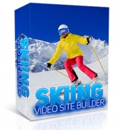 Skiing Video Site Builder Private Label Rights