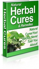 Natural Herbal Cures & Remedies Private Label Rights