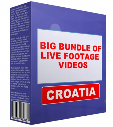 Big Bundle Of Live Footage Videos - Croatia