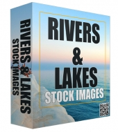 Rivers and Lakes Stock Images Private Label Rights
