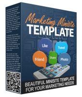 New Marketing Minisite Template for 2015 Private Label Rights