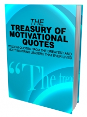 The Treasury of Motivational Quotes Private Label Rights