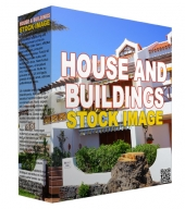 Homes and Buildings Stock Images Private Label Rights