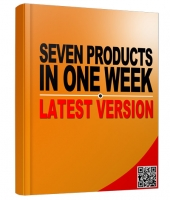 Seven Products in One Week New Edition Private Label Rights