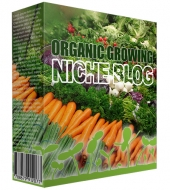 Organic Growing Niche Blog Private Label Rights