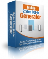 Mobile 2 Step Opt-In Generator Private Label Rights