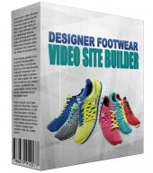 Designer Footwear Video Site Builder Private Label Rights