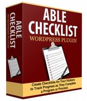 Able Checklist Plugin Private Label Rights
