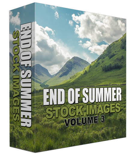 End Of Summer Stock Image Blowout Volume 03