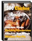 300 Chicken Recipes Private Label Rights