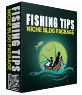 Fishing Tips PLR Niche Blog Private Label Rights