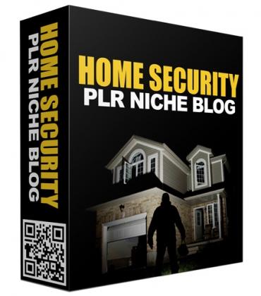 Home Security PLR Niche Blog