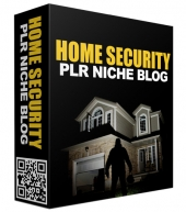 Home Security PLR Niche Blog Private Label Rights