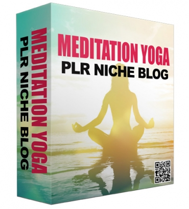 Meditation and Yoga PLR Niche Blog