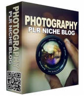 Photography PLR Niche Blog V2 Private Label Rights