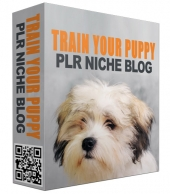 Train Your Puppy PLR Niche Blog Private Label Rights