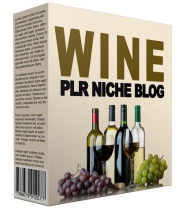 Wine PLR Niche Blog V2