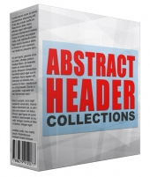 Abstract Header Collection Private Label Rights