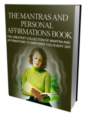 The Mantras and Personal Affirmations Book Private Label Rights