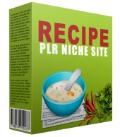 Recipe PLR Niche Blog V2 Private Label Rights