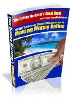 The Online Marketer's Cheat Sheet