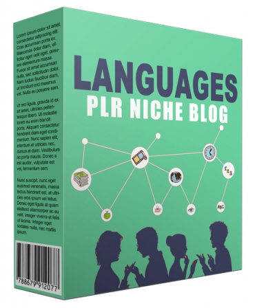 Languages PLR Niche Website V2