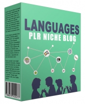Languages PLR Niche Website V2 Private Label Rights