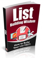 List Building Wisdom Private Label Rights