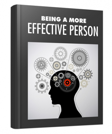 Being A More Effective Person