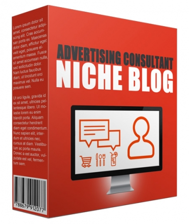 Advertising Consultant Niche Website Bundle