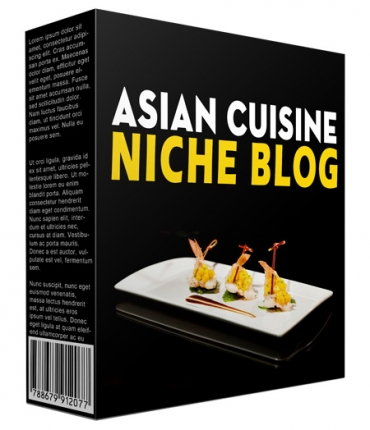 Done-for-You Asian Cuisine Niche Website