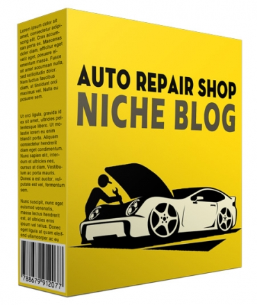 Done-for-You Auto Repair Shop Niche Website