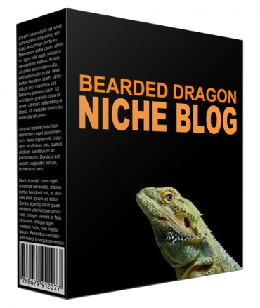 Done-for-You Bearded Dragons Flipping Niche Site