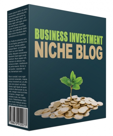 Done-For-You Business Investment Niche Site