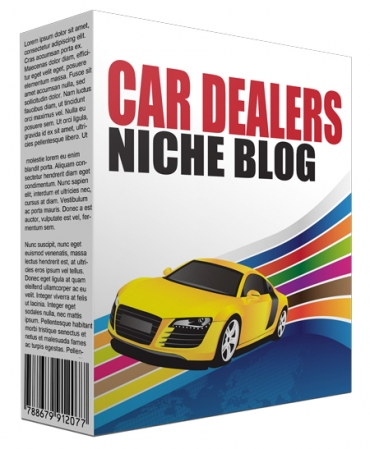 Car Dealers Niche Site Bundle