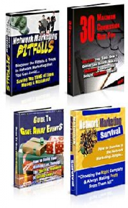 4 eBooks Private Label Rights Pack