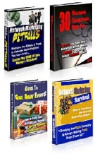 4 eBooks Private Label Rights Pack Private Label Rights