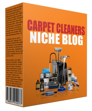 Carpet Cleaners Niche Site Pack