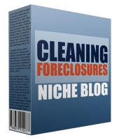 Cleaning Foreclosure Flipping Niche Site Private Label Rights