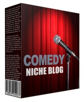 Comedy Niche Site Pack Private Label Rights