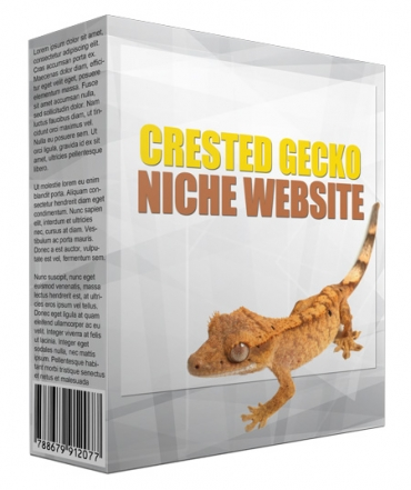 Crested Gecko Flipping Niche Site