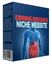 Cronhs Disease Flipping Niche Site Private Label Rights